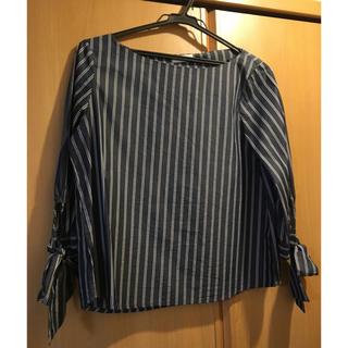 インデックス(INDEX)のINDEXストライプシャツ(シャツ/ブラウス(長袖/七分))