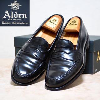 Alden - Alden 8.5D オールデン コードバン ペニーローファー