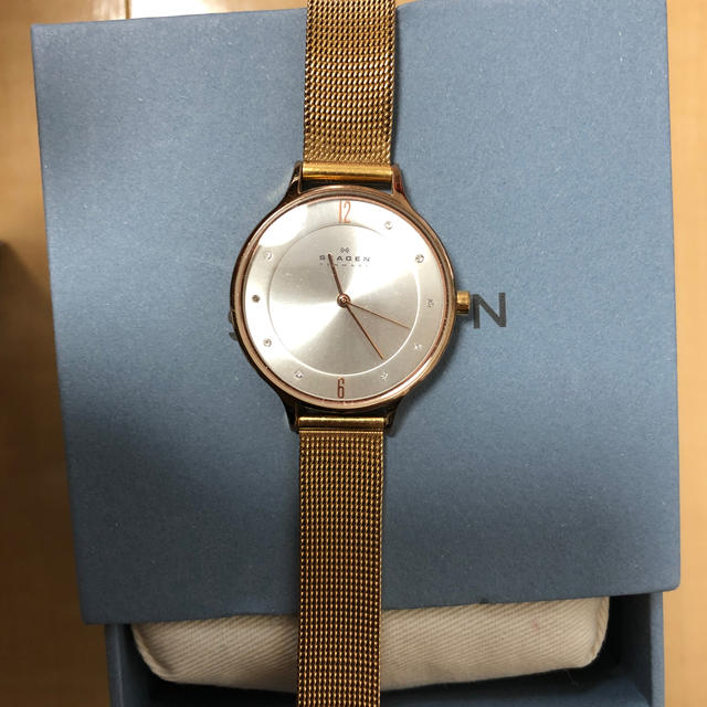 SKAGEN(スカーゲン)のSKAGEN 時計 ゴールド SKW2151 レディースのファッション小物(腕時計)の商品写真