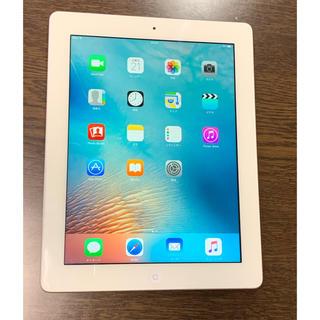 アイパッド(iPad)の美品 iPad 第3世代 ホワイト WiFiモデル(タブレット)