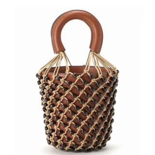 フレームワーク(FRAMeWORK)の極美品 STAUD BEADED MOREAU バッグ(ハンドバッグ)