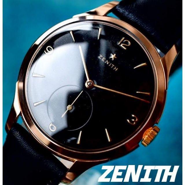 スーパー コピー ロレックス 最高品質販売 、 ZENITH - ◆ゼニス◆ 新品仕上/OH済/ゴールドスター/14K/アンティーク/腕時計/手巻の通販