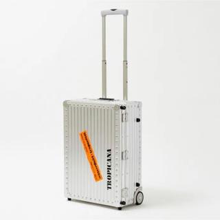 リモワ(RIMOWA)の【新品未使用・付属品完備】リモワ トロピカーナ キャリー ケース 40L(トラベルバッグ/スーツケース)