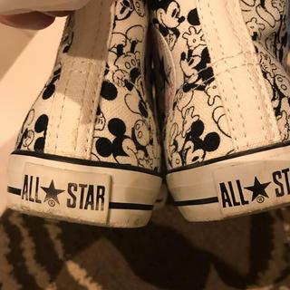 コンバース(CONVERSE)のコンバース ALL STAR 子供用 スニーカー ミッキーマウス(スニーカー)