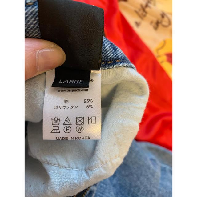 BAGARCH デニム メンズのパンツ(デニム/ジーンズ)の商品写真