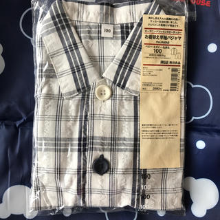 MUJI (無印良品) - 無印良品 お着替え半袖パジャサイズ100