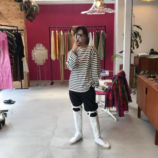 ジョンリンクス(jonnlynx)のfumika uchida boots cover White   (ブーツ)