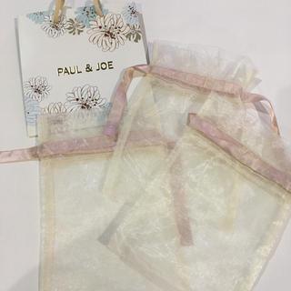 ポールアンドジョー(PAUL & JOE)のポール&ジョー ショッパー  袋 ショップバッグ ギフトバック(ショップ袋)