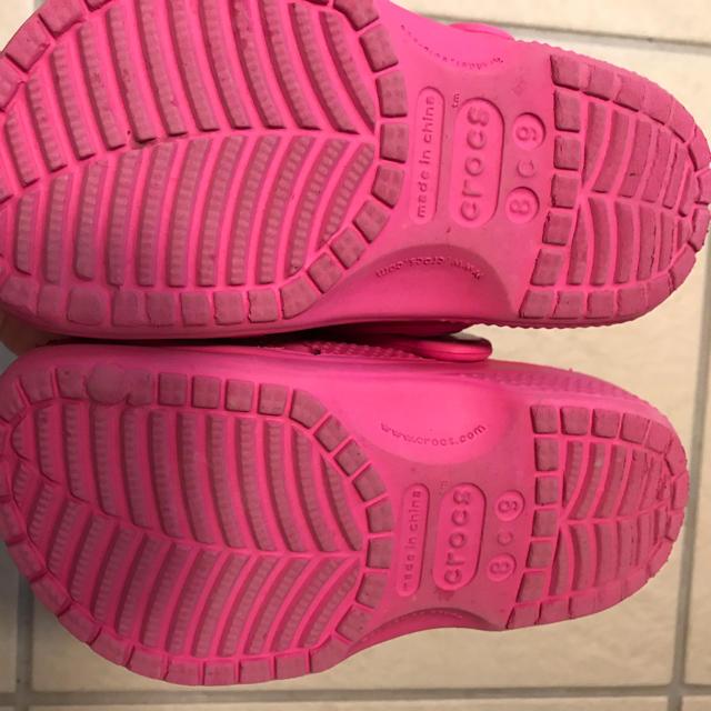 crocs(クロックス)のクロックス キッズ  キッズ/ベビー/マタニティのキッズ靴/シューズ(15cm~)(サンダル)の商品写真