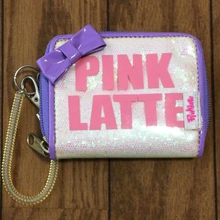 ピンクラテ(PINK-latte)のpink latte 小銭入れ付きパスケース(パスケース/IDカードホルダー)