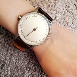 輸入品/ドイツ/SLOWROUND/一針24時間時計/希少(腕時計(アナログ))