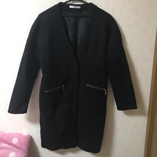 グレイル(GRL)のフェイク スライバー ロングコート 春服 レディース 新品 大幅値下げ(ロングコート)