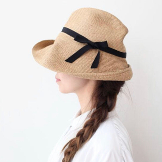 ネストローブ(nest Robe)のマチュアーハ 帽子(麦わら帽子/ストローハット)
