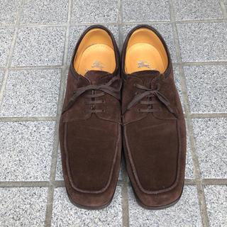 BURBERRY - バーバリー ロンドン シューズ ワラビーブーツ スエード 靴 メンズ 紳士