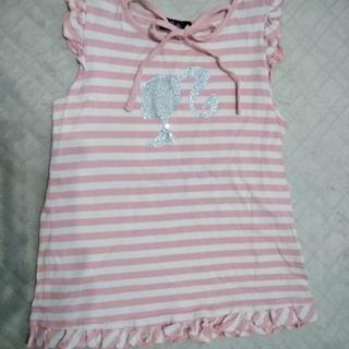 バービー(Barbie)のBarbie バービー 女の子用ノースリーブシャツ 140㎝  2枚セット(Tシャツ/カットソー)