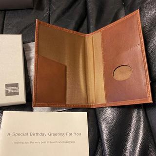 アメックス AMEX プラチナカード イタリアンレザー製パスポートケース(ノベルティグッズ)