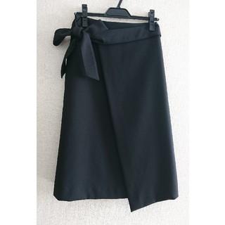 ビームス(BEAMS)のビームスライトの黒スカート(ロングスカート)