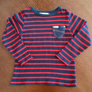 リー(Lee)のLee ボーダーカットソー 120(Tシャツ/カットソー)