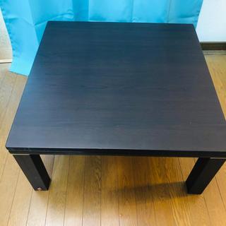 ニトリ - テーブル こたつ ニトリ(ほぼ未使用※ただし傷あり)