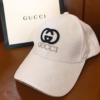 Gucci - GUCCI キャップ 帽子 美品