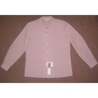 新品 7号 オフィスブラウス 事務服 OL制服(シャツ/ブラウス(長袖/七分))