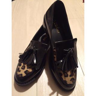 ミスティック(mystic)の♡mystic レオパードローファー(ローファー/革靴)