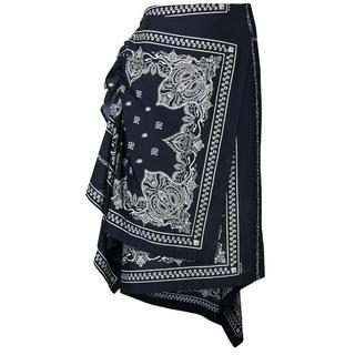 サカイ(sacai)のsacai バンダナ スカート 19ss(ひざ丈スカート)