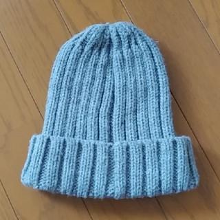 ジーユー(GU)のグレー ニット帽 キッズ GU(帽子)