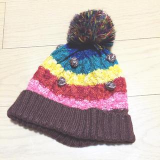 ラフ(rough)のroughニット帽(ニット帽/ビーニー)
