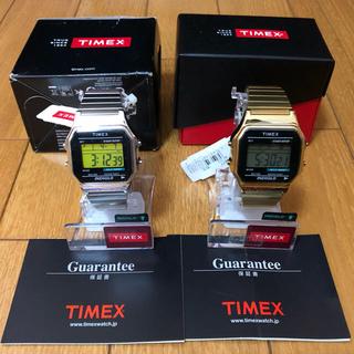 タイメックス(TIMEX)の新品 タイメックス T78677&T78587セット TIMEX(腕時計(デジタル))