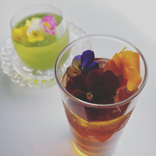 希少な⁉︎茨城のレモンマートルブレンド緑茶×紅茶セット♪(茶)