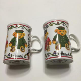 ハロッズ(Harrods)の#  harrods  #  /   # ハロッズベアー  ペアマグカップ#(グラス/カップ)