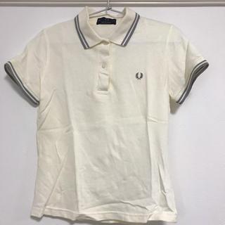 FRED PERRY - フレッドペリー ポロシャツ オフホワイト