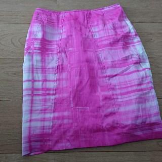 カルバンクライン(Calvin Klein)のカルバンクライン  ピンクスカート(ひざ丈スカート)