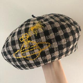 Vivienne Westwood - チェック柄 ベレー帽