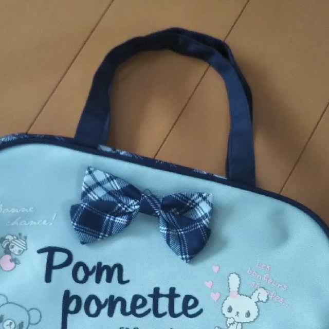 pom ponette(ポンポネット)の【未使用】ポンポネット バッグ キッズ/ベビー/マタニティのこども用バッグ(トートバッグ)の商品写真