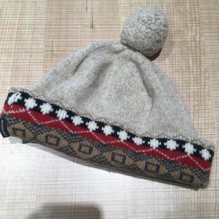 バーバリー(BURBERRY)のバーバリーロンドン  ノルディック柄 ニット帽(ニット帽/ビーニー)