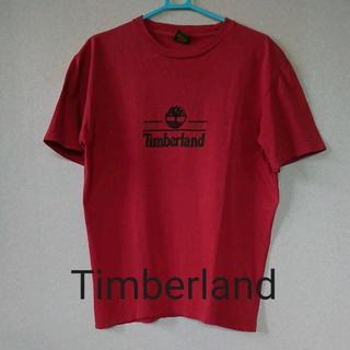 ティンバーランド(Timberland)の★格安 Timberland(ティンバーランド) Tシャツ 赤★(Tシャツ/カットソー(半袖/袖なし))
