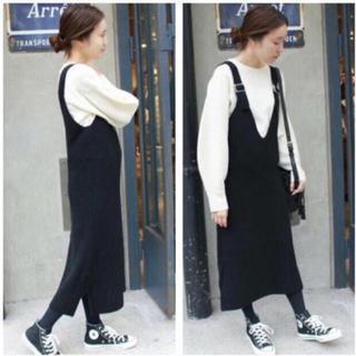 IENA SLOBE - SLOBE IENA ニットジャンパースカート