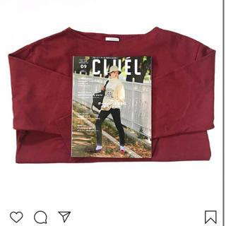 LENO&CO バスクシャツ レッド