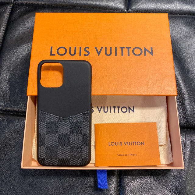 LOUIS VUITTON - 【新品】LOUIS VUITTON iPhone11 PRO ケース ダミエの通販