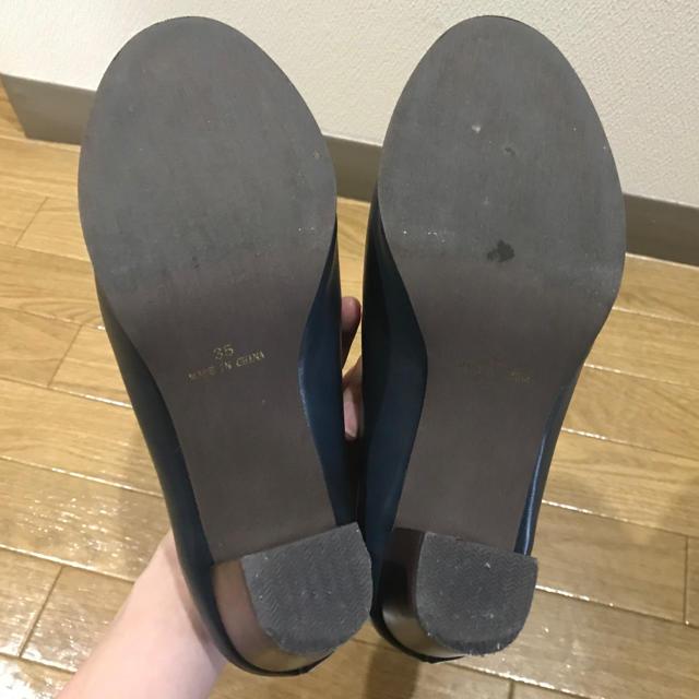 THE EMPORIUM(ジエンポリアム)の【値下げ】レザー調ブーティー レディースの靴/シューズ(ブーティ)の商品写真