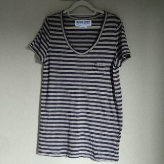 ミュベールワーク(MUVEIL WORK)のMUVEILWORK シャツ(Tシャツ(半袖/袖なし))