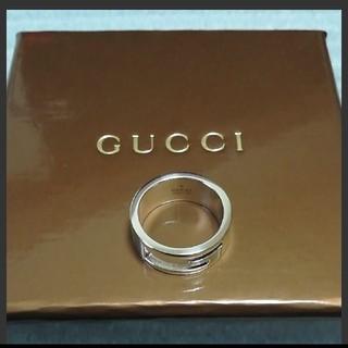 Gucci - グッチ Gカットリング