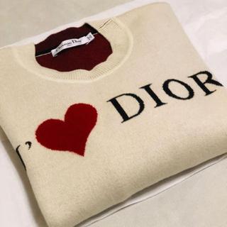 ディオール(Dior)のDIOR 希少カシミア  Amourセーター (ニット/セーター)