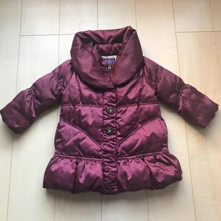 アナスイミニ(ANNA SUI mini)のANNA SUI mini 中綿入りコート 90(コート)