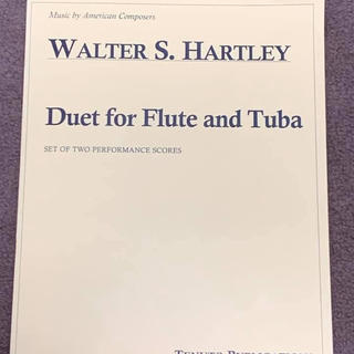 Duets for Flute and Tuba(チューバ)