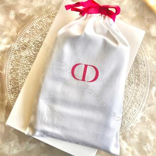 ディオール(Dior)の【新品未開封】ディオール 限定非売品 ストリングポーチ ハンドタオル 綿100%(タオル)