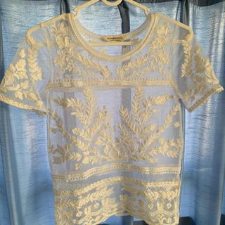 デニムアンドサプライラルフローレン(Denim & Supply Ralph Lauren)のレーストップス(Tシャツ(半袖/袖なし))