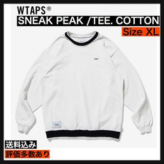 W)taps - 【XL】SNEAK PEAK / TEE. COTTON